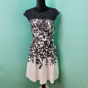 Maurices Black & White dress- 7/8